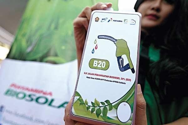 Penggunaan Biodiesel 20 Persen Berlaku 1 September