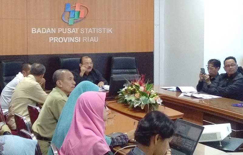 Perekonomian Riau Tumbuh 2,88 Persen