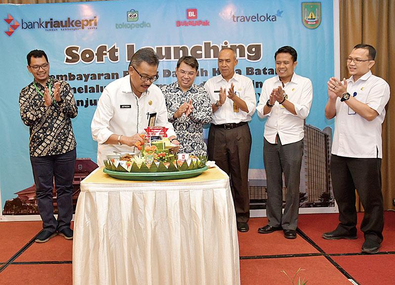 BRK Soft Launching Pembayaran PBB Kota Batam lewat E-Commerce dan ATM