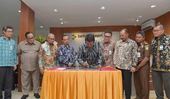 BRK Tanjung Uban Resmi Gunakan Gedung Baru
