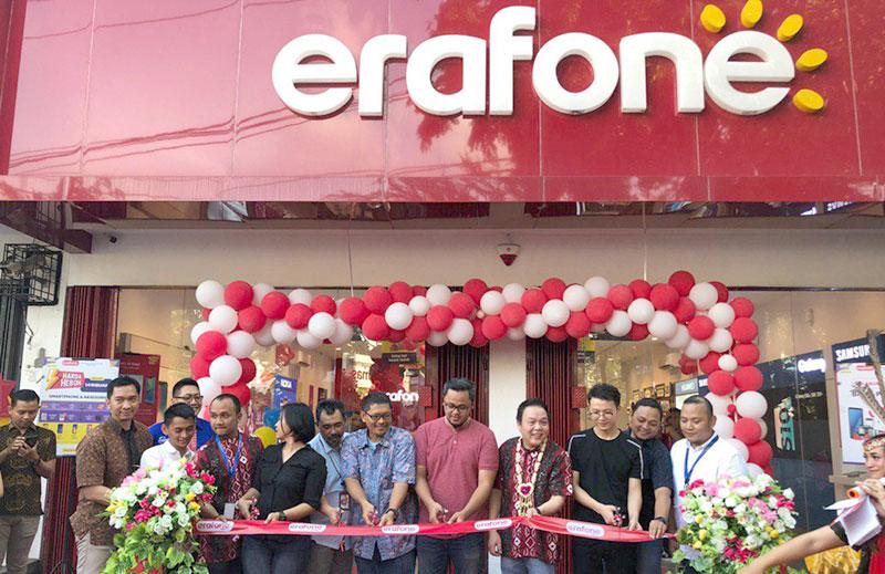 Erajaya Retail Group Serentak Resmikan 9 Outlet