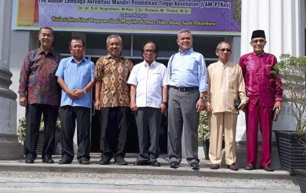 Kopertis Kunjungi STIKes-STMIK Hang Tuah Pekanbaru