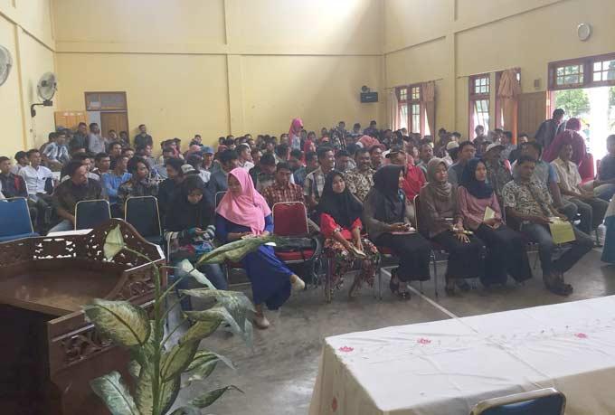 480 Relawan LE-Hardianto Diberi Pembekalan