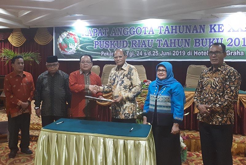Bangun PKS Mini, Puskud Riau Gandeng Mitra