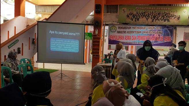 Beri Penyuluhan Pencegahan dan Penanggulangan Asma