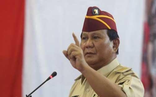 Prabowo Imbau Pendukung Jadi Saksi TPS