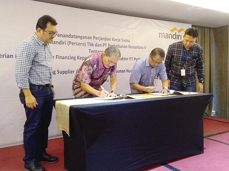 Mandiri Siapkan Pembiayaan Khusus untuk Mitra PTPN V