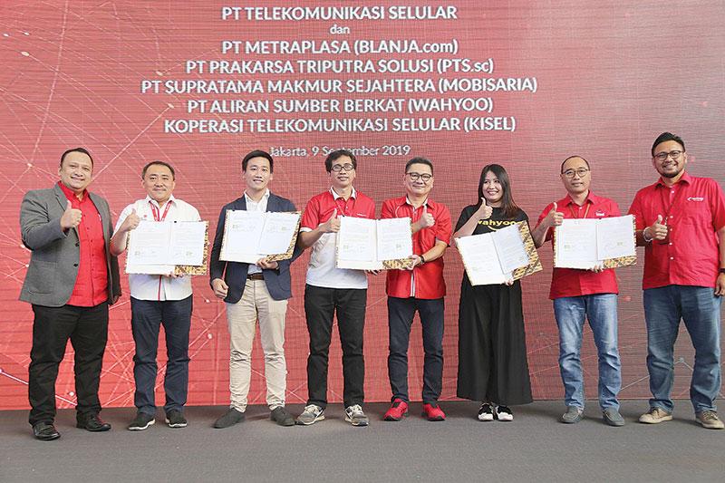 Telkomsel Dorong Komunitas UMKM Go Digital