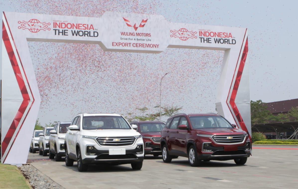 Wuling Lepas Ekspor ke Pasar Asia Tenggara
