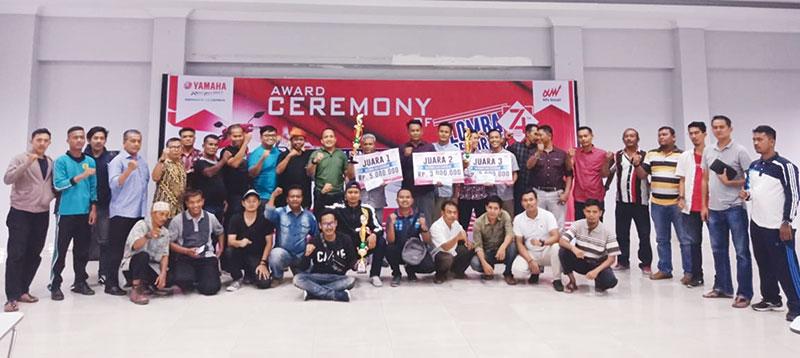 Perumahan Damai Langgeng Juara Lomba Hias Gapura Yamaha Alfa Scorpii