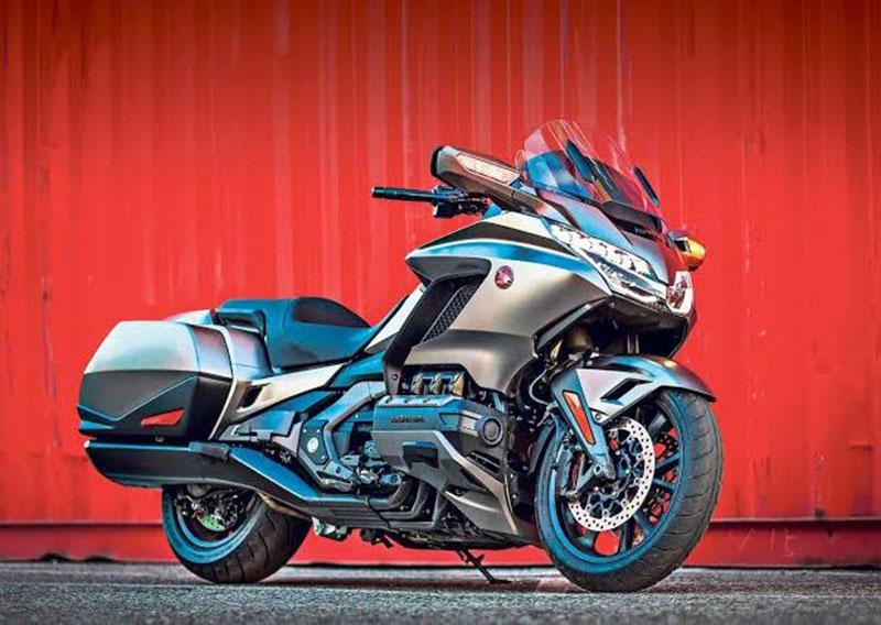 Honda Gold Wing 2020 Bakal Dilengkapi Dual Clutch Transmision