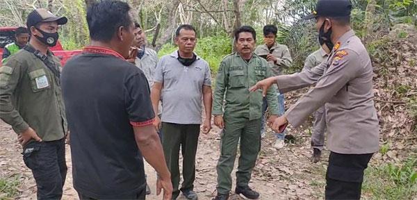 Antisipasi Karhutla, Jajaran Polsek Ukui dan TNTN Patroli Bersama
