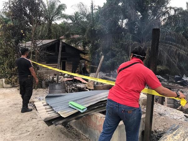 Empat Unit Rumah di Inhu Ludes Terbakar, Kerugian Capai Rp100 Juta
