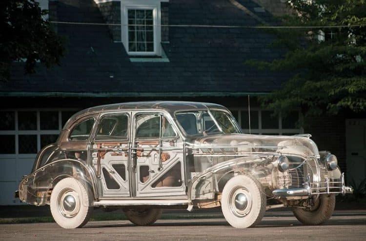 Ini Dia Wujud Mobil Transparan Pertama di Dunia