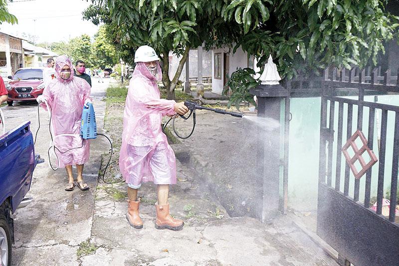 Swadaya Semprot Disinfektan