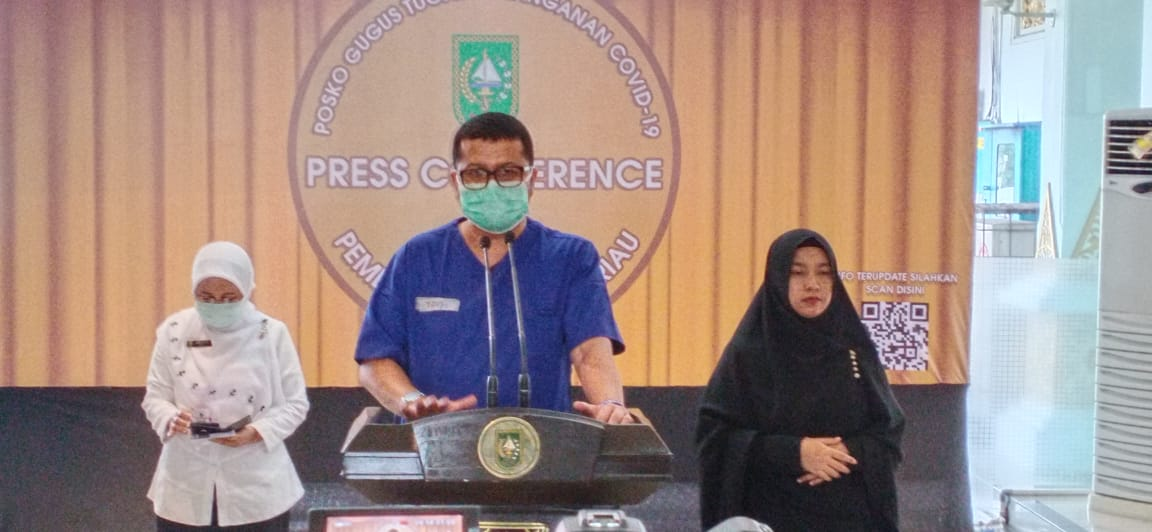 Pasien Positif Riau Ke-41, Seorang Santri