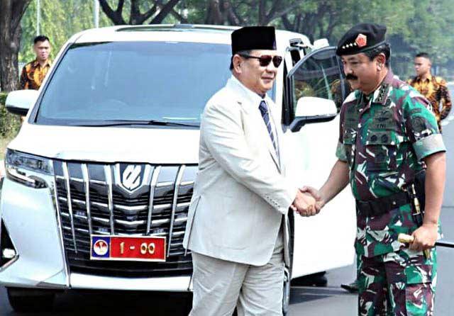 Janji Menhan Prabowo: PerkuatTNI dan Tambah Alutsista