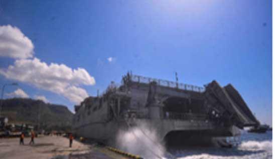 TNI AL Tahan Kapal AS, Tentara Amerika Tak Bisa Turun ke Darat