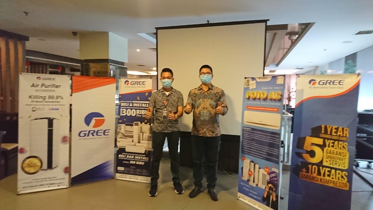 AC Gree Bidik Pasar Pekanbaru, Luncurkan Produk Bergaransi Terlama