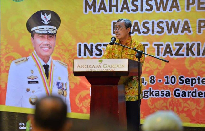 75 Hafiz Quran asal Riau Dapat Beasiswa Institut Tazkia Bogor