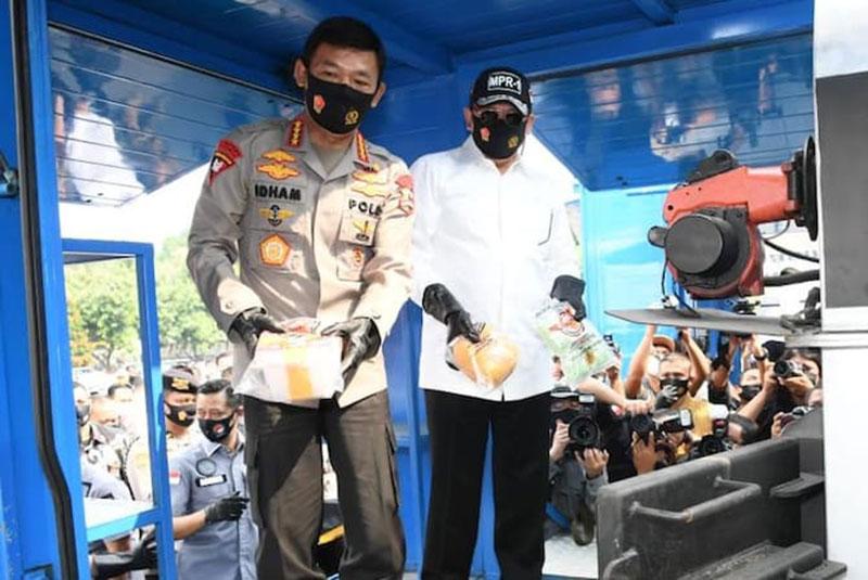 74 Jenis Narkoba Baru Beredar di Indonesia