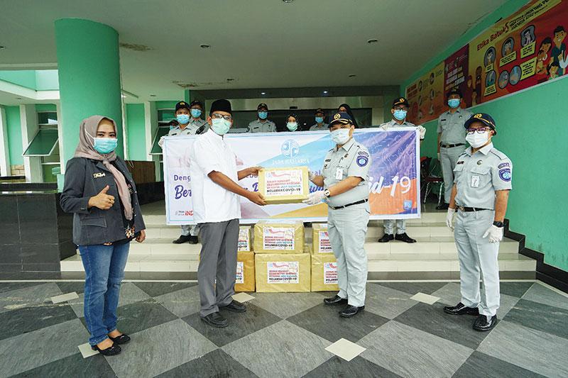Jasa Raharja Berikan Donasi Kemanusiaan
