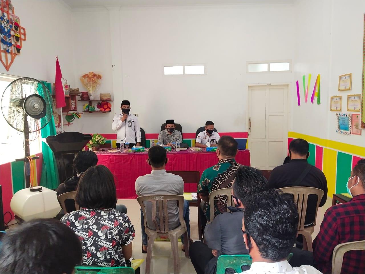 PPDP Se-Kecamatan Bangko Dapat Bimtek Persiapan Coklit
