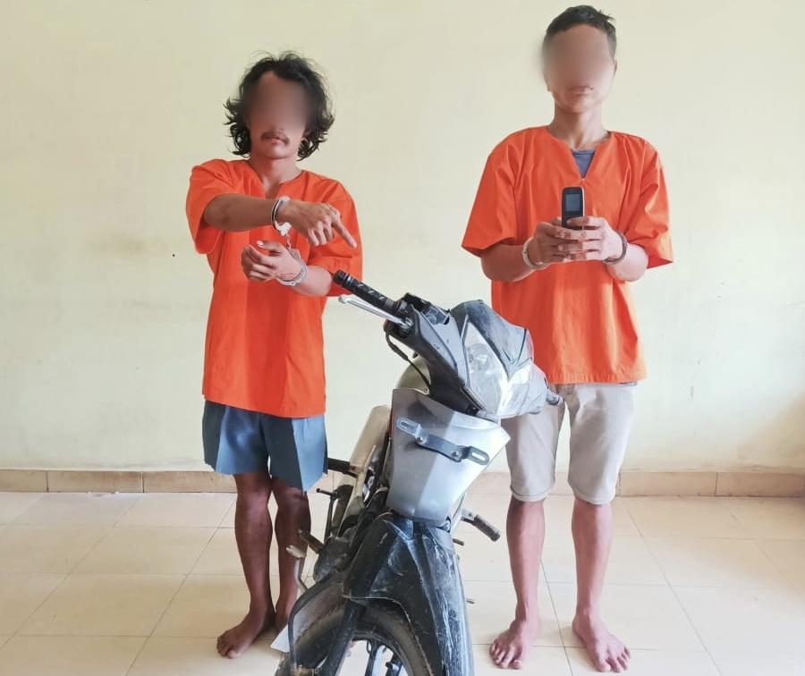 Pelaku Diduga Bongkar Rumah di Jalan Lintas Pekanbaru-Pinggir Diciduk