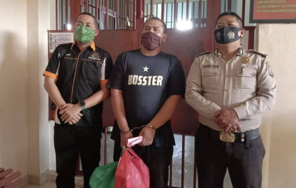 Buyung, Pengedar Narkoba asal Tembilahan Terancam Hukuman Mati
