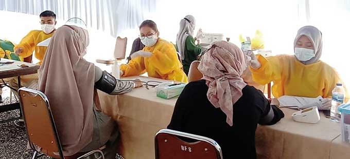 Pekerja-Keluarga PHR WK Rokan Sudah Vaksinasi