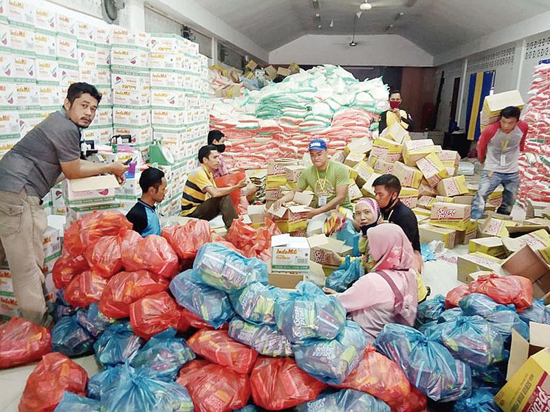 18 Kelurahan Menerima, Lima Kelurahan Menolak Bantuan Sembako