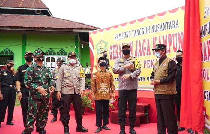 Desa Agrowisata Rumbai Jadi Kampung Tangguh Nusantara