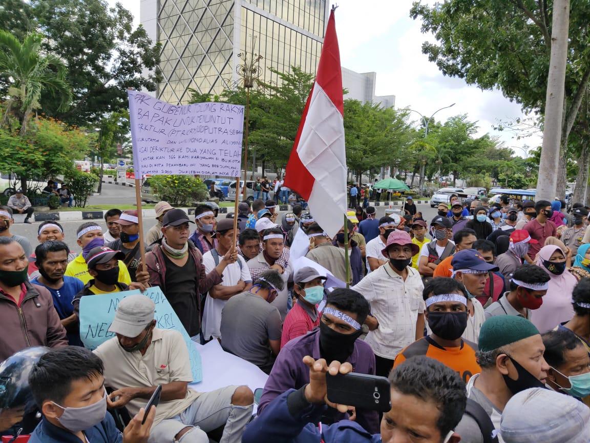 Tuntut Pesangon, Mantan Karyawan PT Ricry Minta Bantuan Gubernur
