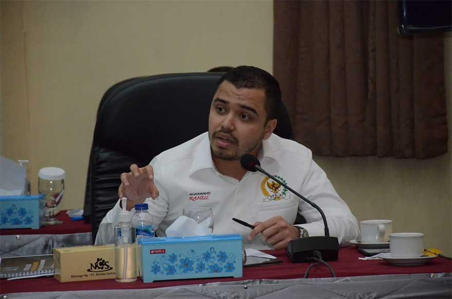 Anggota Komisi III DPR ke Kapolda Riau: Tindak THM dan Perangi Narkoba