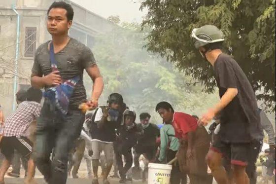 164 Tewas Protes Kudeta Myanmar, Militer Salahkan Pengunjuk Rasa