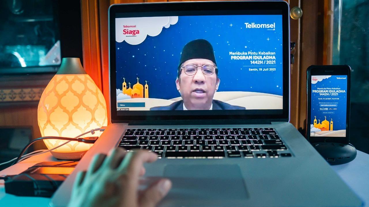 Telkomsel Salurkan 906 Ekor Hewan Kurban ke Seluruh Indonesia