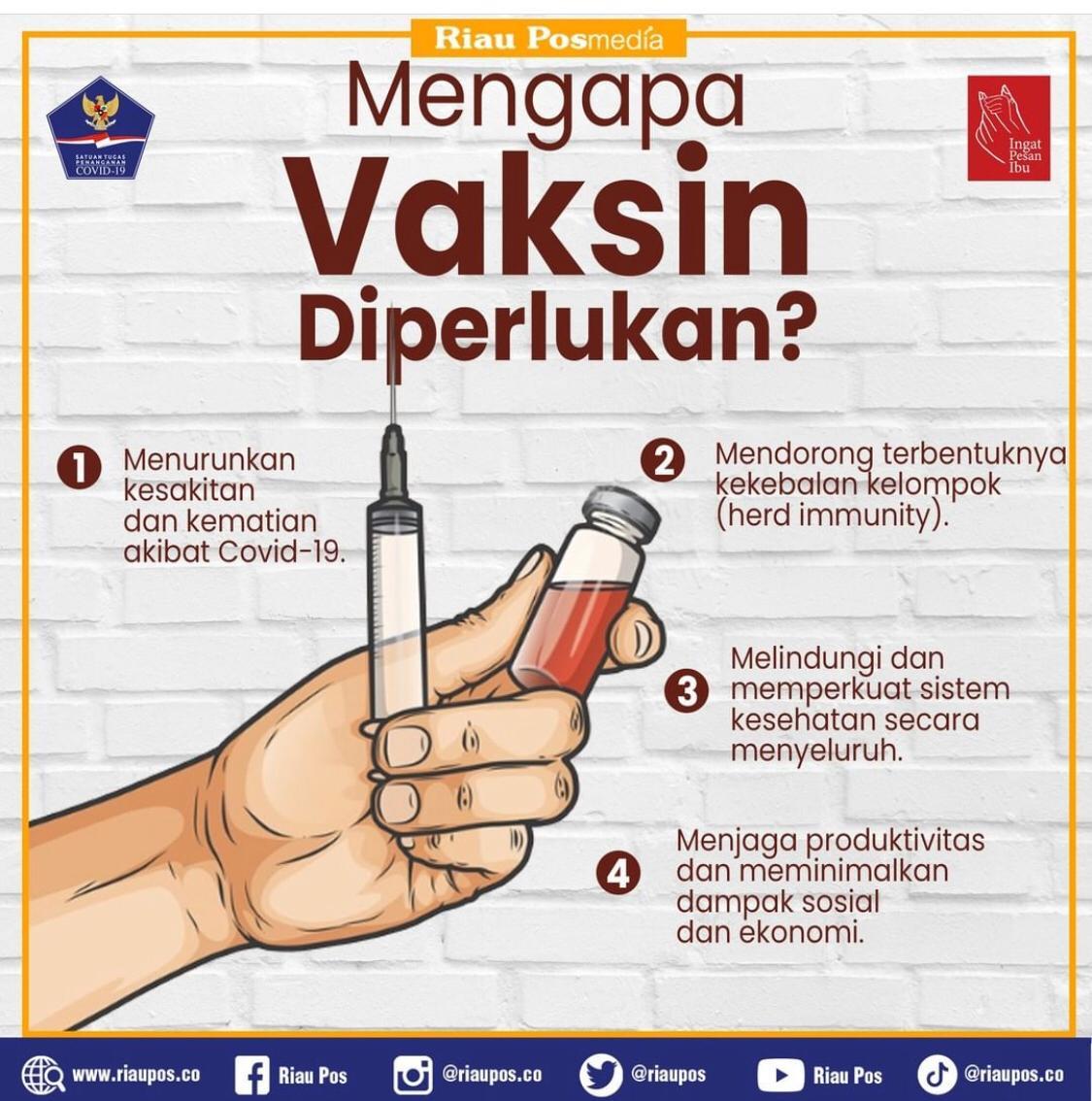 Prokes dan Vaksin, Senjata Ampuh Memutus Mata Rantai Covid-19
