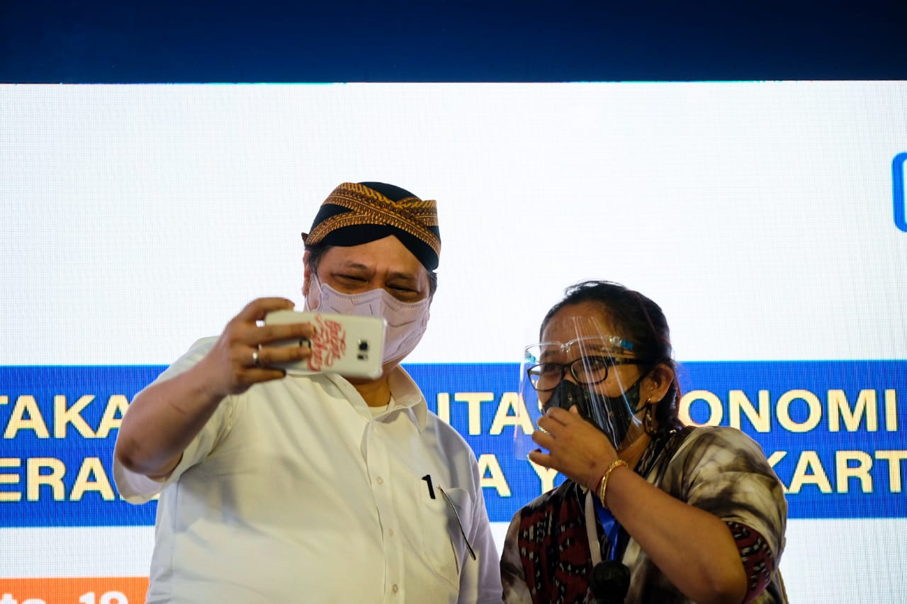 Menko Airlangga: Perlu Solidaritas Antarnegara Hadapi Pandemi