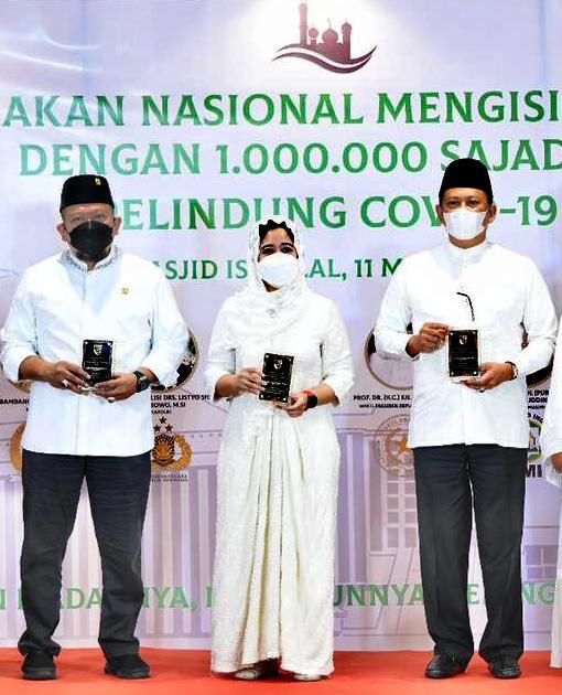 Sasar 274.000 Masjid, Bamsoet Dukung Penuh Gerakan Nasional Satu Juta Sajadah