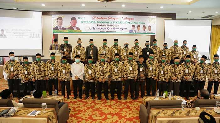 Ikadi Riau Resmi Dilantik, Program Dai Bina Desa Dipuji