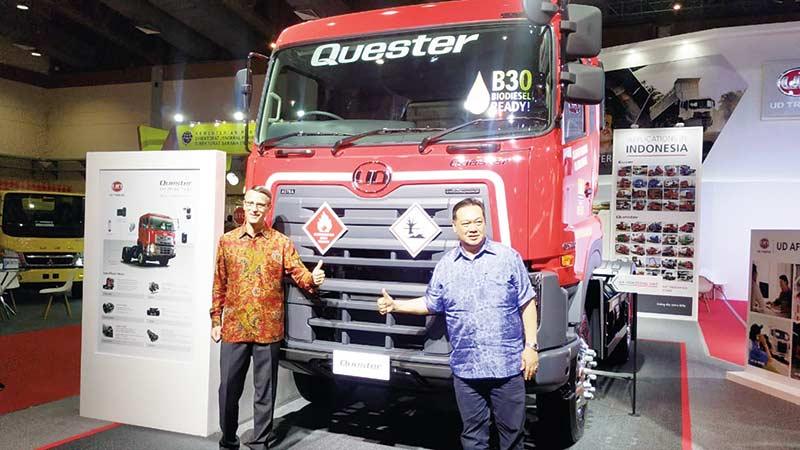 UD Trucks Fokus ke Transportasi Logistik dan Konstruksi