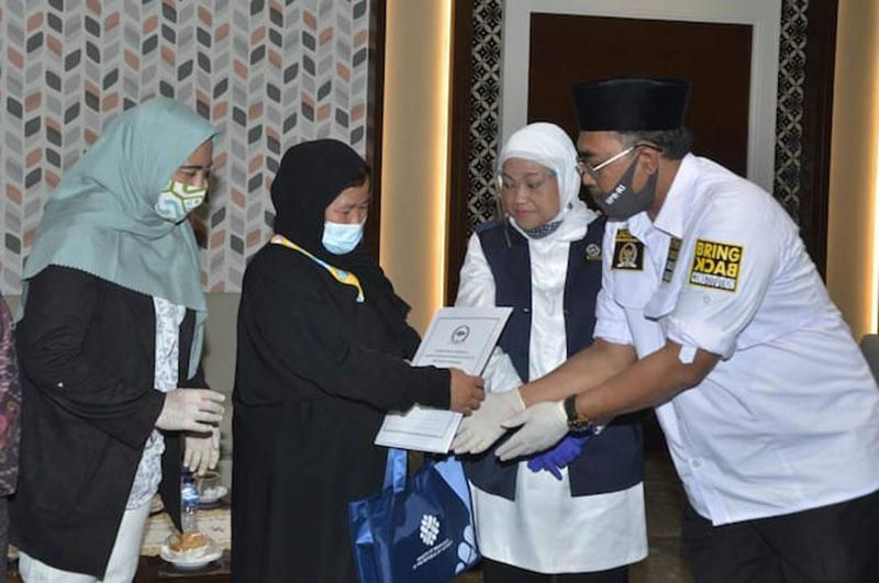 Etty yang Lolos Hukuman Mati di Arab Saudi Positif Covid-19