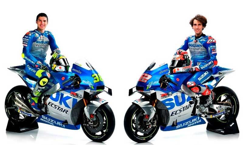 Suzuki Kenalkan Tim Balap MotoGP 2020