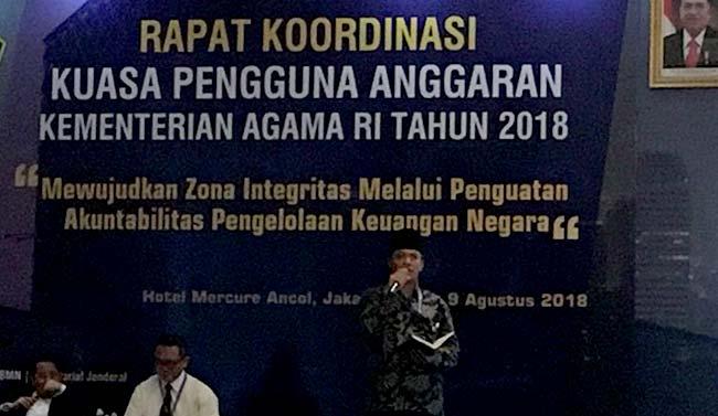Rektor UIN Jadi Narasumber Cegah Radikalisme di PTKIN