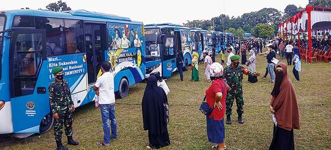 Kasus Positif Covid-19 di Riau Tembus 70 Ribu