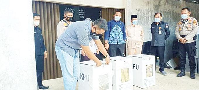KPU Inhu Siap Hadapi Gugatan di Mahkamah Konstitusi