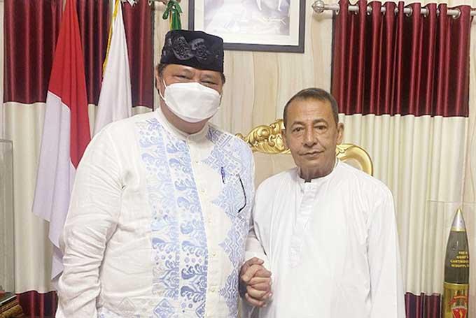 Airlangga Sowan ke Habib Luthfi