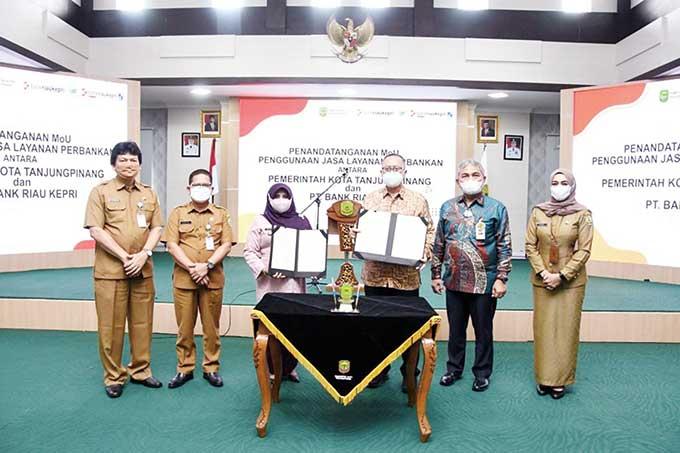 Wako Tanjungpinang-BRK Teken MoU