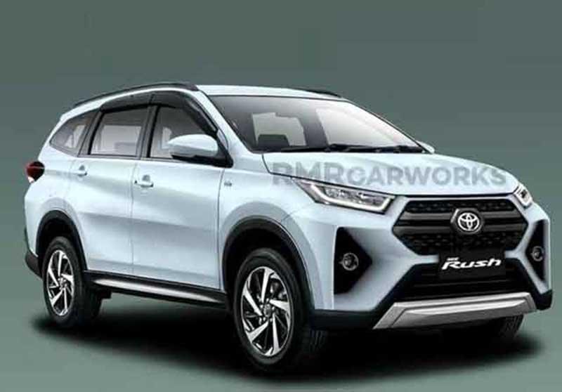 Tampilan Toyota Rush dengan Desain Baru