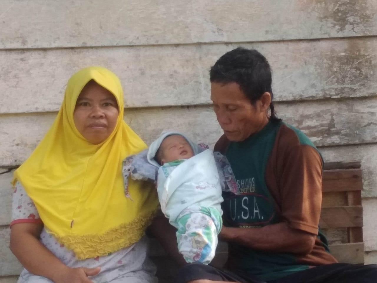 Dukung Andi Putra-Suhardiman, Warga Marsawa Sentajo Raya Beri Nama Bayi Asa